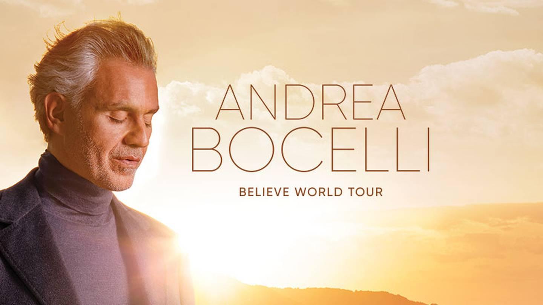 Win tickets to Andrea Bocelli