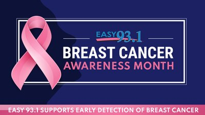 EASY 93.1 Supports Early Detection of Breast Cancer